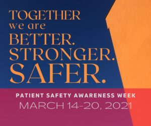 Patient Safety Awareness Week Ultrasound Probe Disinfection